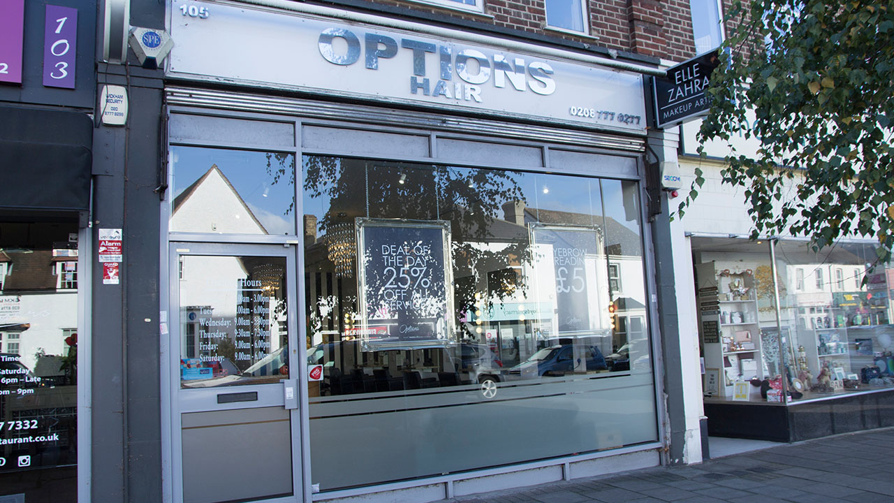 Options Hair & Beauty West Wickham 01