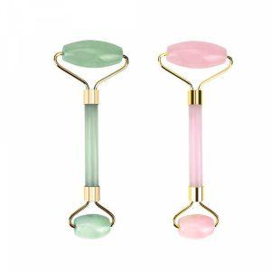 Jade and Rose Quartz Rollers